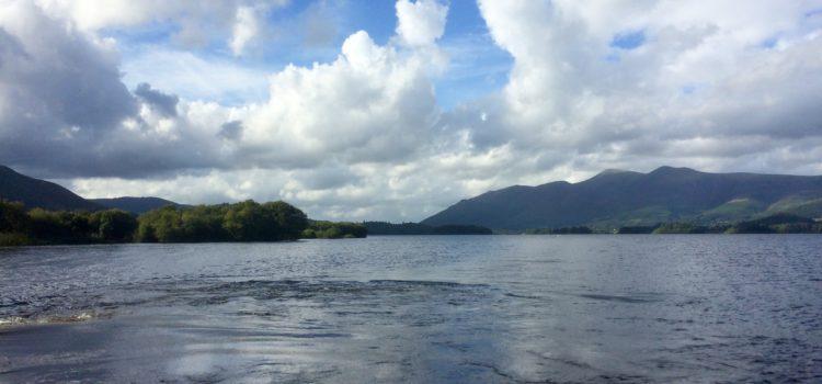 STSD boat trip on Keswick lake